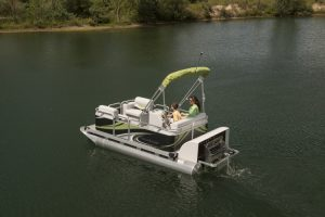 electric pontoon boat paddle qwest
