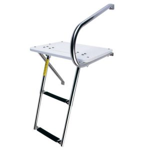 EEz-In Outboard Swim Platform Telescoping Ladder