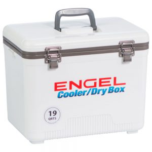 pontoon best coolers Engle 19-quart cooler and dry box