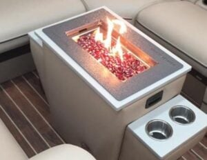 Pontoon Boat Accessories Fun Firepits And Bbq Grills For
