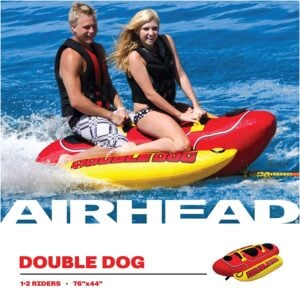 Best Pontoon Towable Tubes Airhead Hot Dog 2 Person