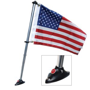 cool pontoon accessories Taylor Pontoon Mount and Flag