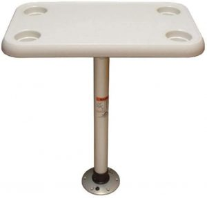 best pontoon boat tables Springfield Marine Rectangle table