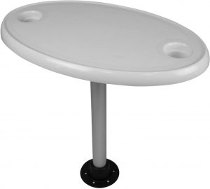 best pontoon boat tables wise oval table