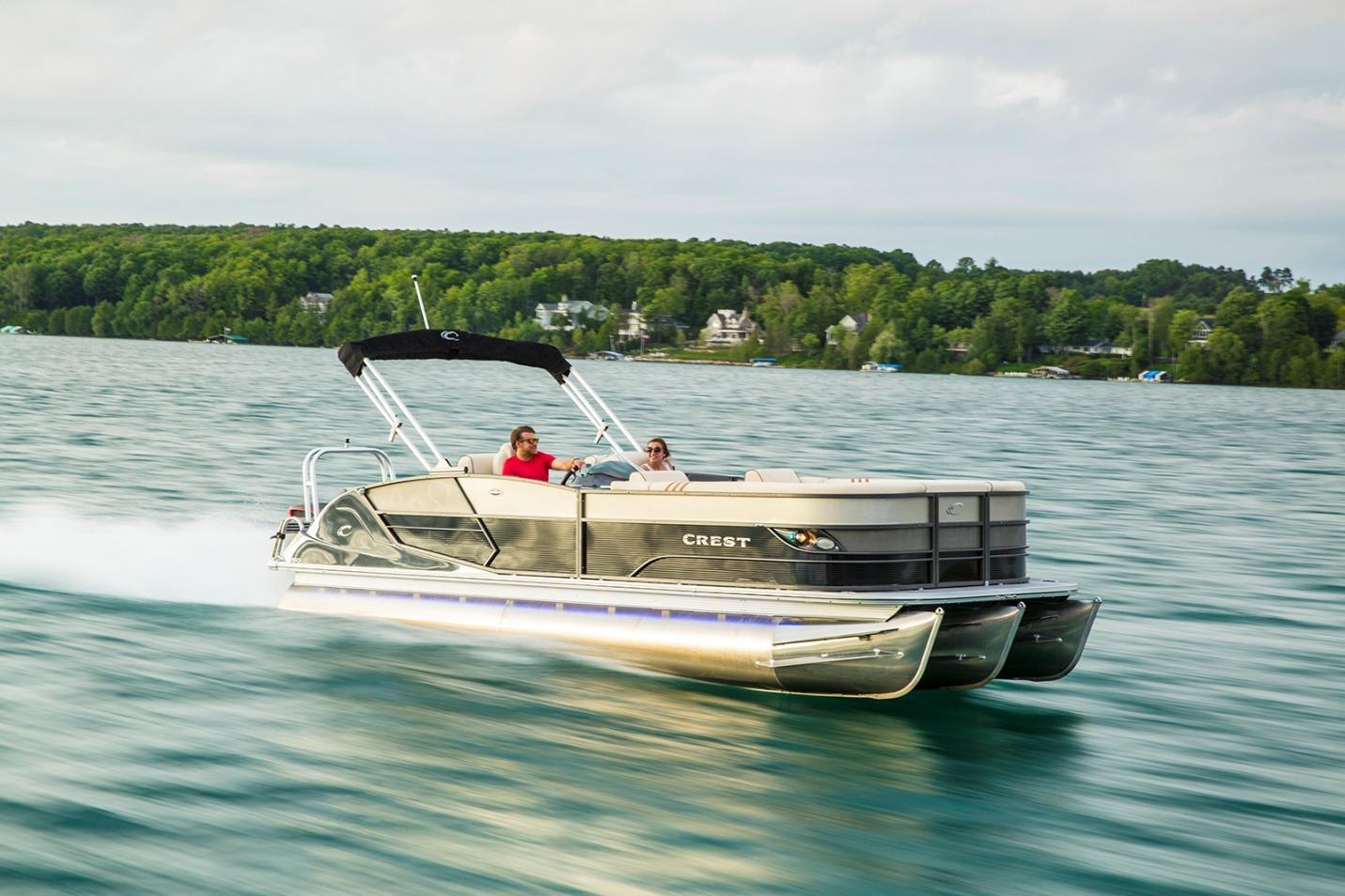 Crest Pontoons Archives Pontoon Boats