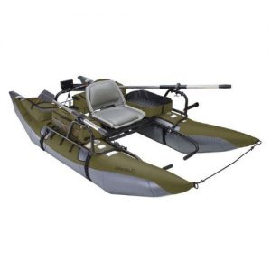 Small Pontoon Boat with Trolling Motor Classic Accessories Colorado Pontoon Boat