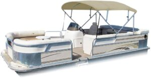 Pontoon Boat Canopy Enclosures Bimini Tops Summerset 600 4 Bow