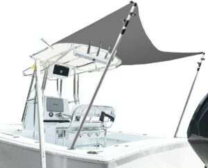 Pontoon Boat Canopy Enclosures Bimini Tops North East Harbor Boat Shade Extension