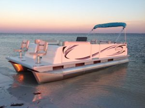 top saltwater pontoon boat manufacturers beachcat pontoons