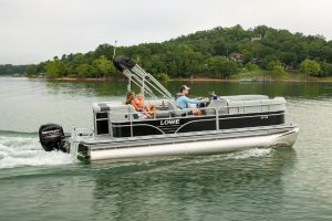 best pontoon boat for the money under $25,000 Lowe SS210