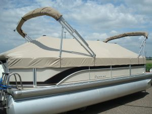 pontoon boat covers with snaps Canvas Craft